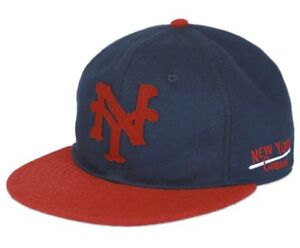 New York Cubans Heritage Wool Cap Navy