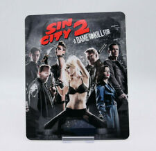 SIN CITY 2 - Glossy Bluray Steelbook Magnet Magnetic Cover (NOT LENTICULAR)