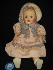 """Vintage Plum 24"""" Baby Doll By Cameo W/ Original Outfit & Hang Tag"""
