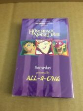 ALL-4-ONE SOMEDAY (HUNCHBACK OF NOTRDAME OST) FACTORY SEALED CASSETTE SINGLE C31