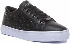 Guess Gladiss Active Lace up Trainer EX DISPLAY In Black Size UK 5