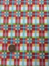 Mischief 2883 Red Check 100% Cotton Quilting Fabric Benartex Nancy Halvorsen