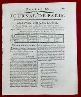 Hôtel Dieu Paris 1785 Château Landon Chirurgien Obstétrique Capitaine Cook