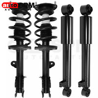 For Hyundai Santa Fe 2010 2011 2012 Front Strut & Coil Springs Rear Shocks