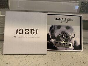 Jaeci Dog Tag Mama's Girl Pet Jewelry New in Box Never Worn