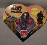 Star Wars The Mandalorian Dar Djin Pop Ups 2 Lollipops w/holder FAST SHIPPING!!!