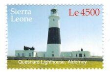 MODERN GEMS - Sierra Leone - Quesnard Lighthouse, Alderney - Single Stamp - MNH