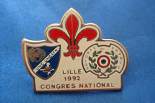 PINS RARE LILLE 1992 CONGRES NATIONAL SOLDATS DE FRANCE