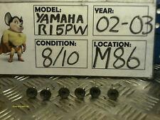 2002 2003 Yamaha R1 5pw Rocker Cubrir Tornillos (m86)