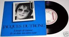 """JACQUES DUTRONC : Le Temps De L'amour RARE 7"""" 45 SP vinyl"""