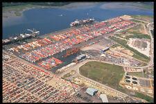 588023 Container Terminal Southampton England A4 Photo Print