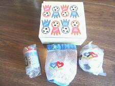 AMERICAN GIRL BITTY BABY TWINS  SOCCER ACCESSORIES- NEW IN BOX FREE SHIP RETIRED