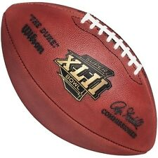 SUPER BOWL 42 XLII - Wilson Official Game Football (GIANTS PATRIOTS)
