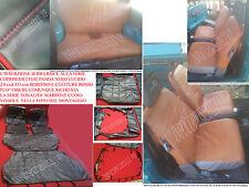 PANDA EPOCA 4x4 ,SISLEY ,750 NERO LUCIDO 2.0 COD 33 BORDINO E CUCITURE ROSSO