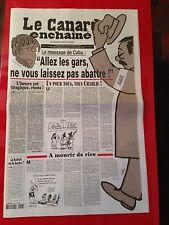 Le Canard enchaîné n° 4916 - Mercredi 14 janvier 2015 - Cabu - Charlie