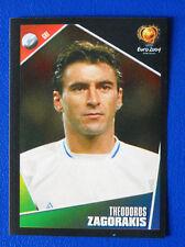 FIGURINA PANINI EURO 2004 - N. 43 - ZAGORAKIS - HELLAS - new