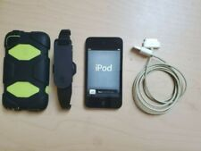 Apple iPod Touch 32 GB Black 4th Generation Bundle With Charging Cable and Case