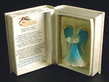 God has you in his keeping, blue  Baby Boy Memorial Angel  box #5