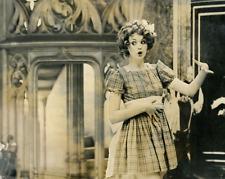 Actrice à identifier Vintage silver Print Tirage argentique  20x25  Circa