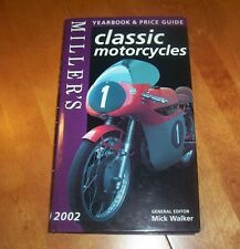 MILLER'S CLASSIC MOTORCYCLES 2002  Motocycle Classic BMW Indian BSA Ducati Book