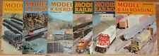 1984 Model Railroading Magazine Set Of 6