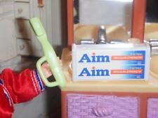 Barbie Aim Double Toothpaste Brush Lot fits Fisher Price Loving Family Dollhouse