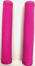 Clarks BMX Closed End Rubber Bike Handlebar Grips Pink Free Delivery
