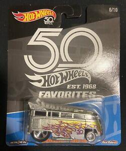 Hot Wheels 50th Anniversary Volkswagen T1 Drag Bus 6/10