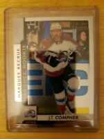 2017-18 O-Pee-Chee Platinum MARQUEE ROOKIE J.T. Compher Colorado Avalanche #179
