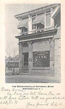 1906 Bernardsville National Bank Bernardsville NJ post card