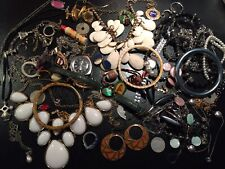 Job Rare Big Lot Bijoux Vintage French Antique Militaire Montre Jewellery B4