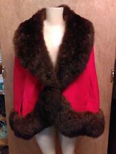 Chudiks Birmingham Vintage Fur Cape