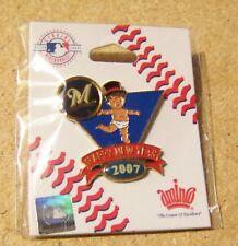 2007 Milwaukee Brewers Baby New Years pin
