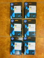 HP 12 C5026A Yellow Ink Print Cartridge Sealed