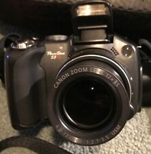 Canon PowerShot S3 IS 6MP Digital Camera With Case  EUC