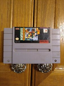 Harleys Humongous Adventure Super NES game. Tested and ready to play! Rare item!