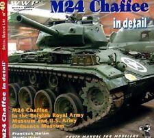 M24 Chaffee serbatoio in dettaglio No.40. LIBRO rintracciati Armour US Army
