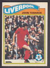 Topps - Footballers (Orange Back) 1978 - # 35 John Toshack - Liverpool