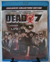 Dead 7 Blu-ray (2016 - The Asylum) ~ Nick Carter, Joey Fatone, A.J. McLean