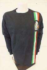 Adidas Black Long Sleeved Federacion Mexicana De Futbol Allstate 1 Memo Shirt XL