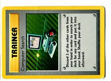 POKEMON BASE English SHADOWLESS CARD (Used) RARE N°  71/102 COMPUTER SEARCH