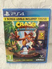 CRASH BANDICOOT N SANE TRILOGY (PS4 GAME)