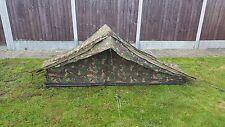 Genuine Dutch Army Issue Woodland DPM Camo Canvas 1 One Man Tent