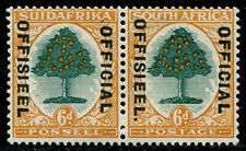 South Africa 1930 SG# O16a with Stop! Mint Lightly Hinged MLH LH OG High $