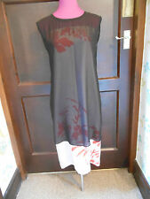 Stunning  All Saints Lilia Screen Dress  Size 10 Excellent Condition