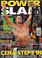 POWERSLAM MAGAZINE SLIDE COLLECTION WWE ROH ECW TNA WWE NXT WWE RARE w/ RIGHTS