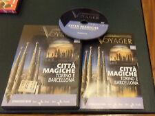 DVD nr. 20 VOYAGER AI CONFINI DELLA CONOSCENZA Città magiche Torino e Barcellona