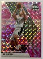 2019/20 Panini Mosaic PINK CAMO Prizm SP BRYN FORBES Spurs #6