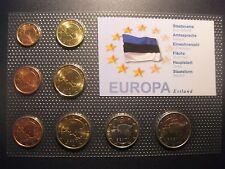 Euro- Kursmünzensatz Euro- Einführung Estland 2011