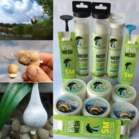 5M PVA 25mm Mesh Refill Carp Fishing Stocking Boilie Rig Bait Wrap Bags-SL